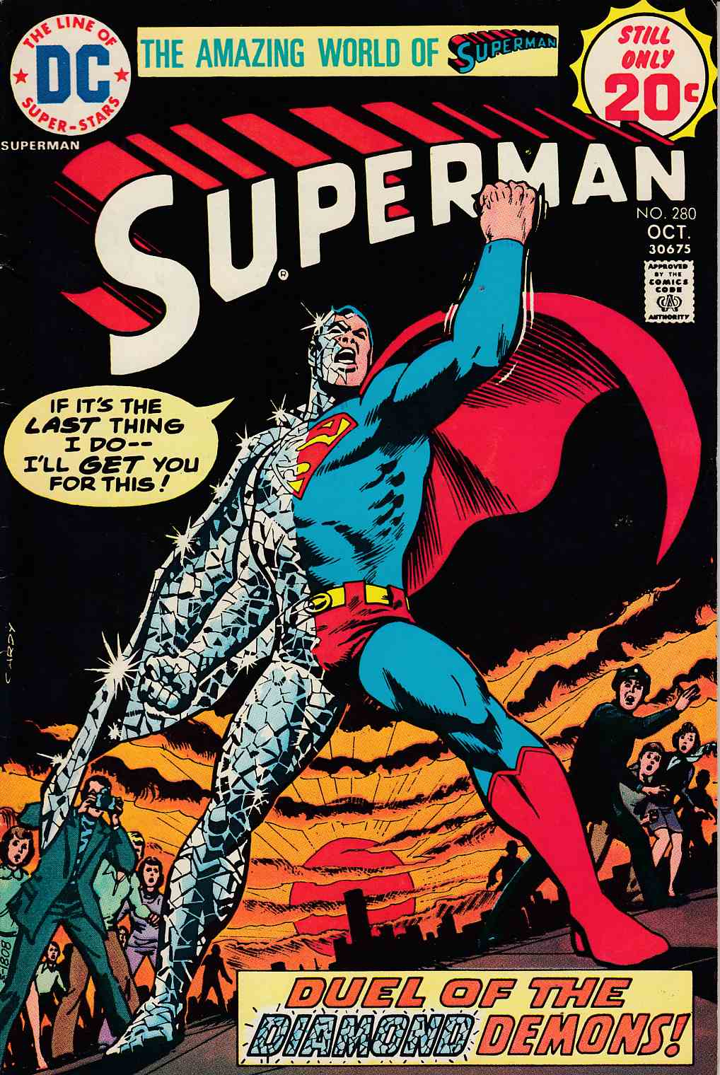 Superman #280 Fine Minus (5.5) [DC Comic] LARGE