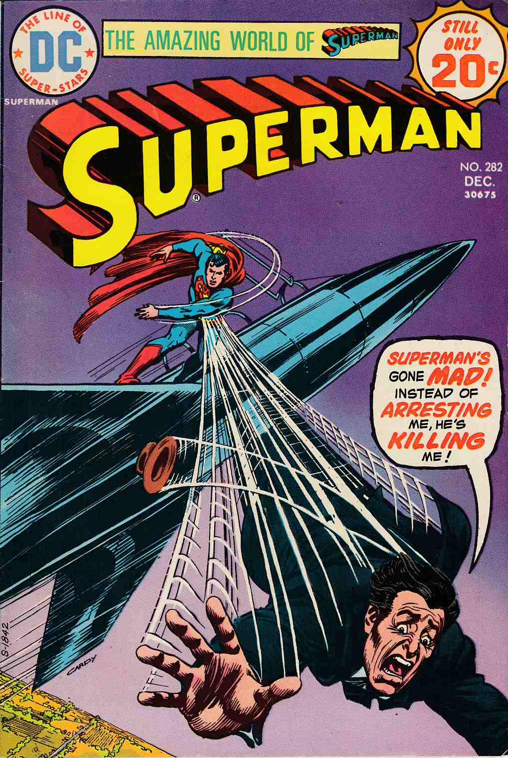 Superman #282 Fine (6.0) [DC Comic] LARGE