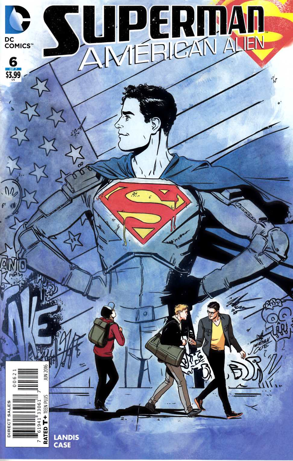 Superman American Alien #6 Case Variant Cover [DC Comic] THUMBNAIL