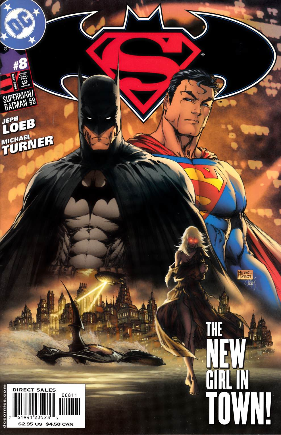 Superman Batman #8 Very Fine Plus (8.5) [DC Comic]