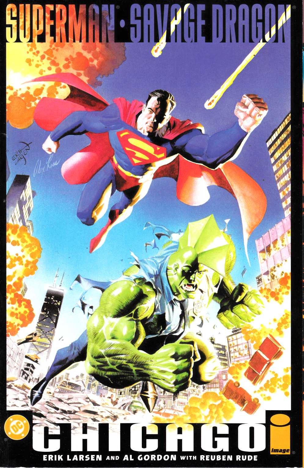 Superman and Savage Dragon (One Shot) Fine (6.0) [DC Comic] THUMBNAIL