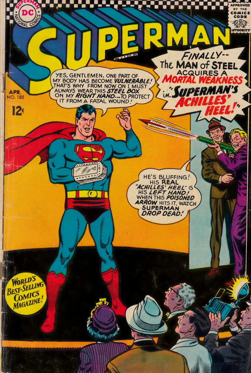 Superman #185 Good/Very Good (3.0) [DC Comic] THUMBNAIL