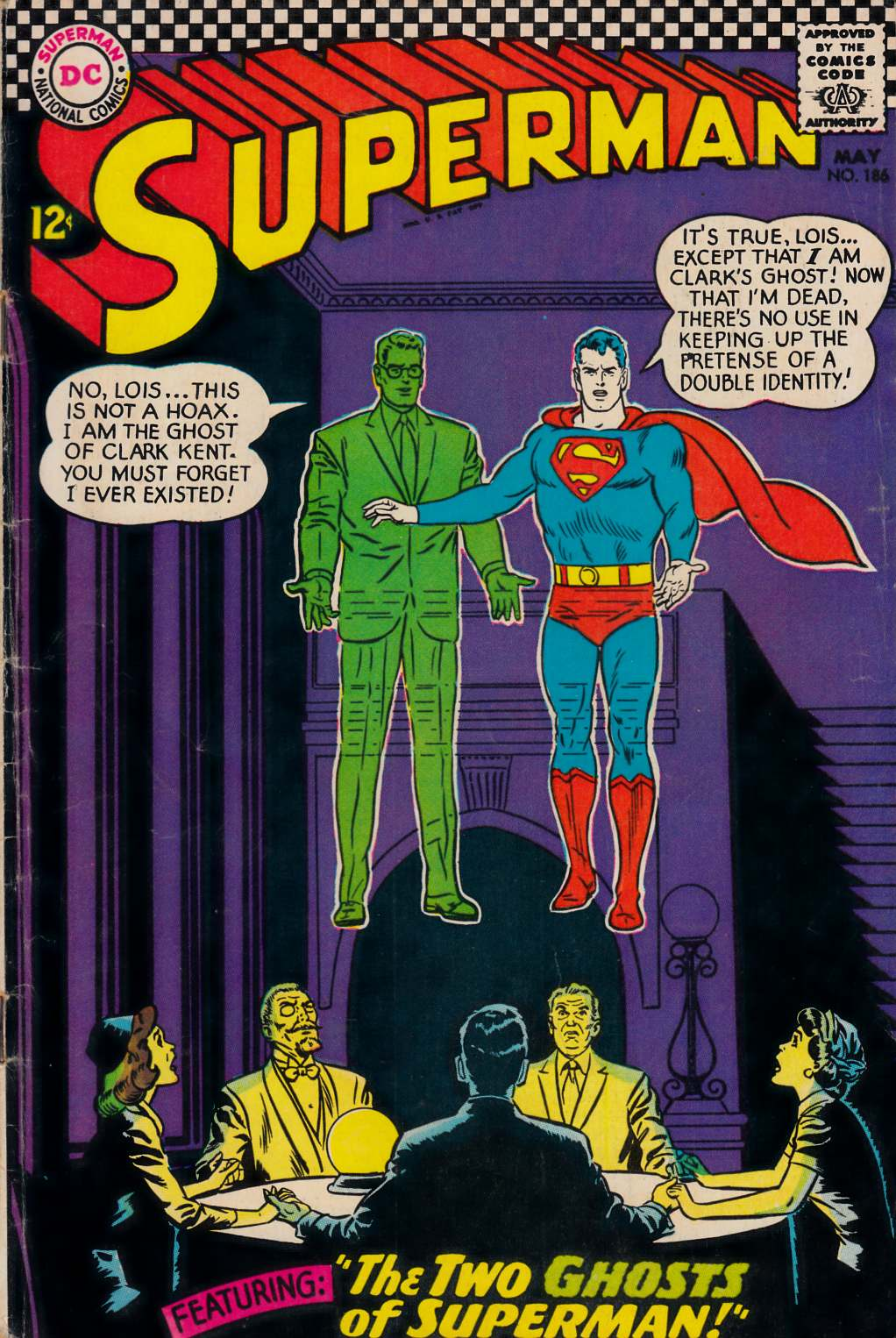 Superman #186 Very Good (4.0) [DC Comic] THUMBNAIL