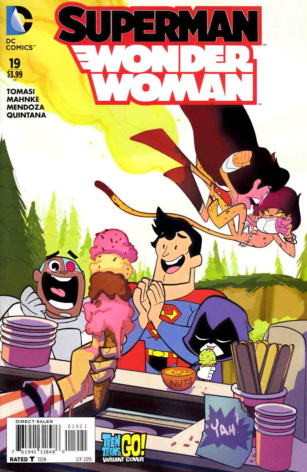 Superman Wonder Woman #19 Teen Titans Go Variant Cover [DC Comic] THUMBNAIL