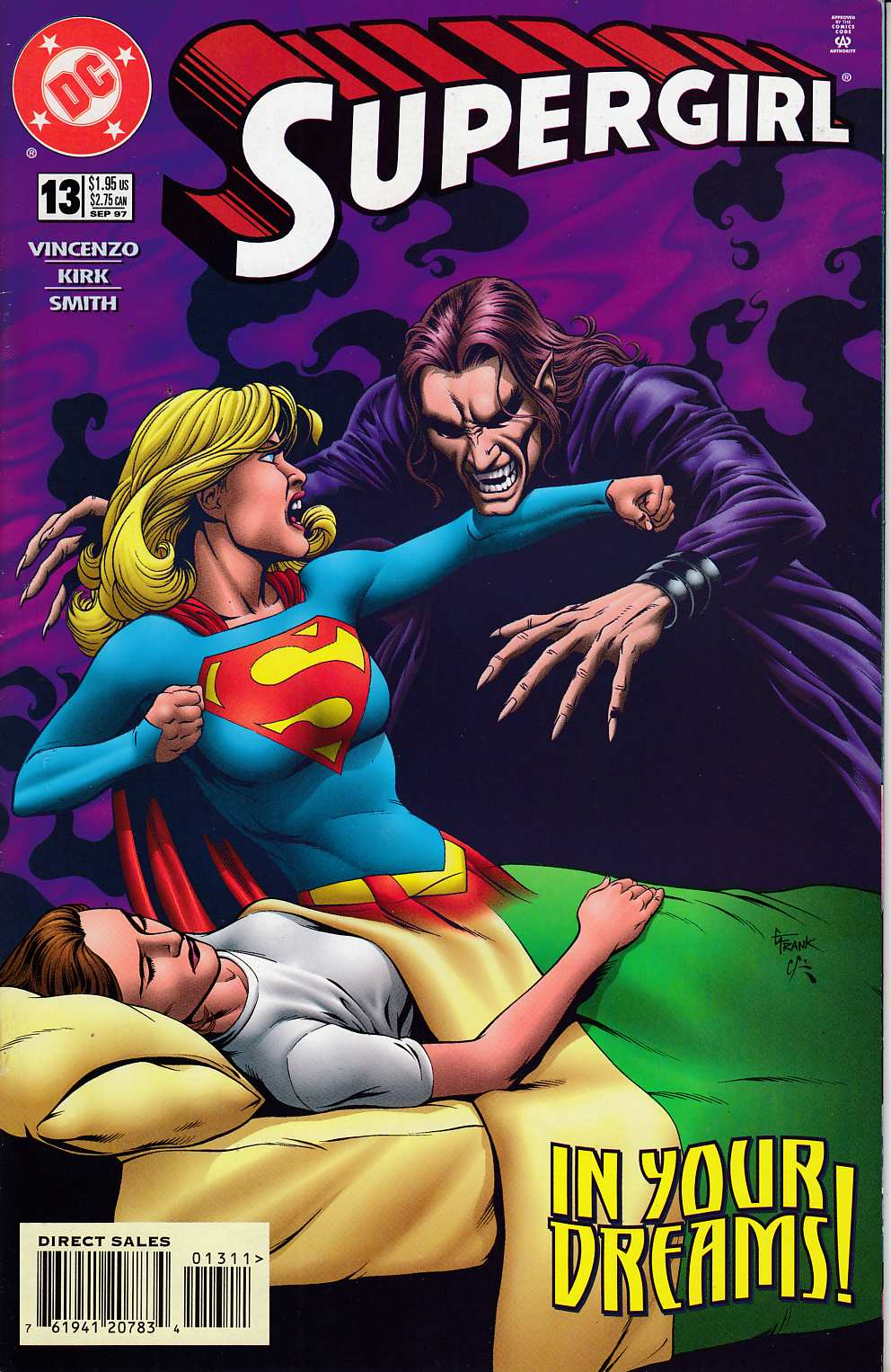 Supergirl #13 Near Mint (9.4) [DC Comic] LARGE