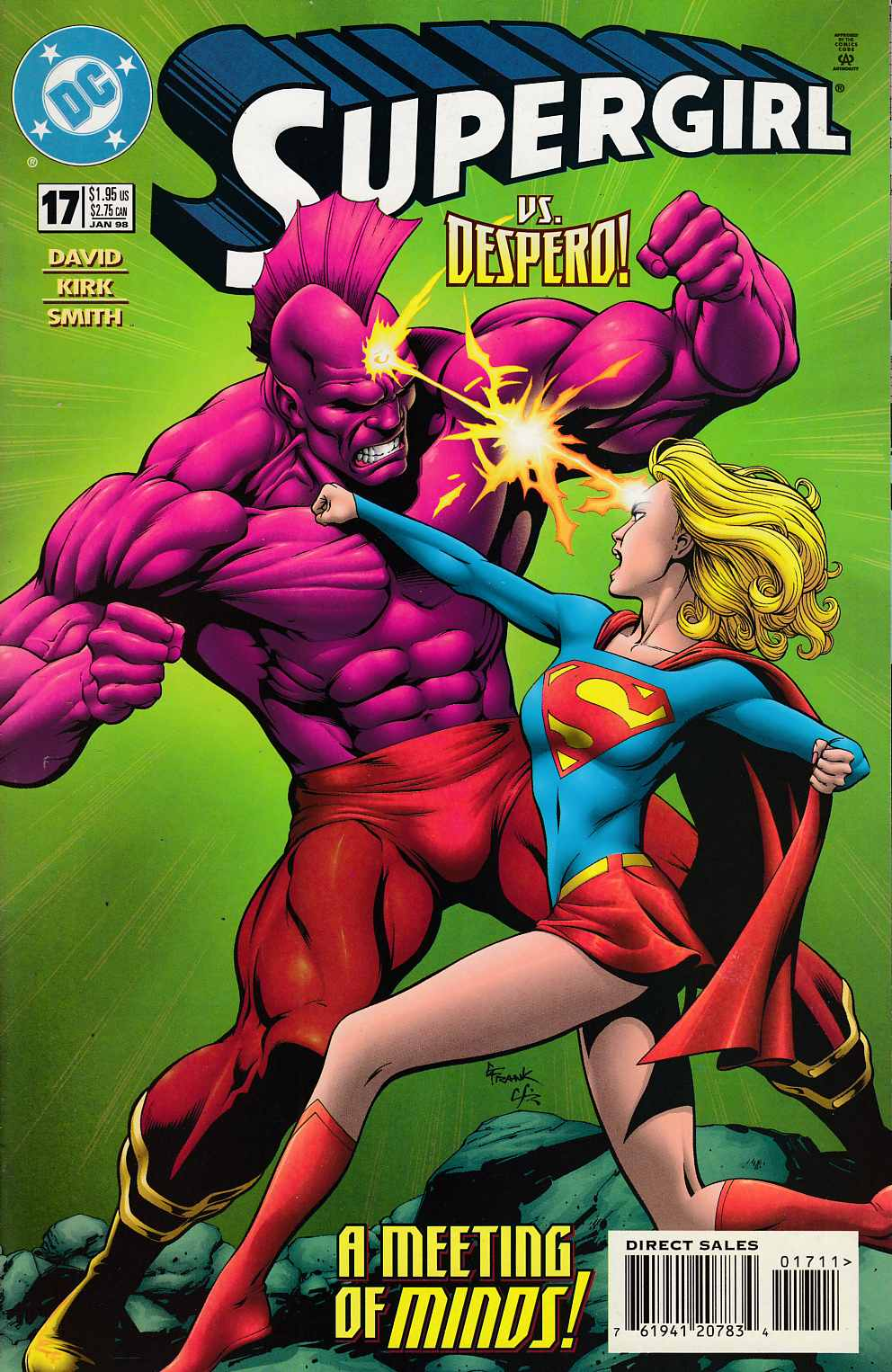 Supergirl #17 Very Fine (8.0) [DC Comic] LARGE