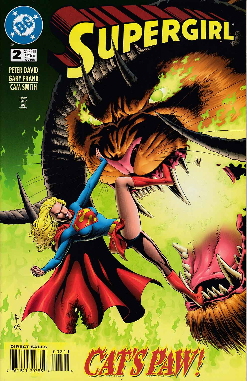 Supergirl #2 Near Mint Minus (9.2) [DC Comic] LARGE