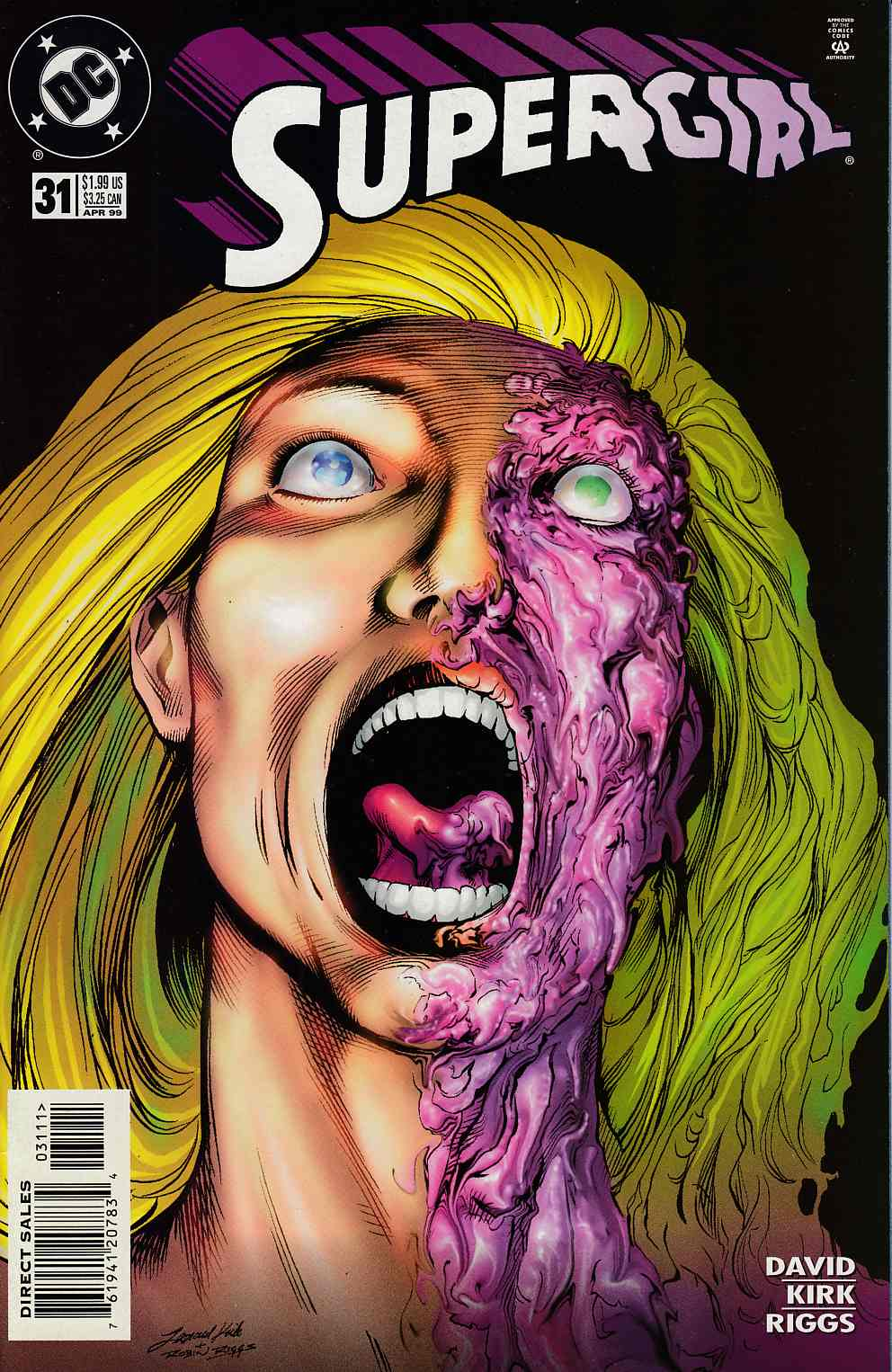 Supergirl #31 Near Mint (9.4) [DC Comic] LARGE