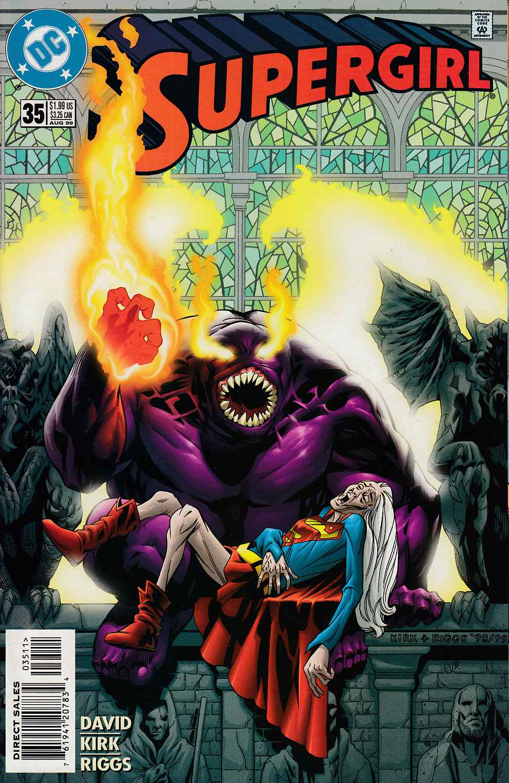 Supergirl #35 Near Mint (9.4) [DC Comic] LARGE