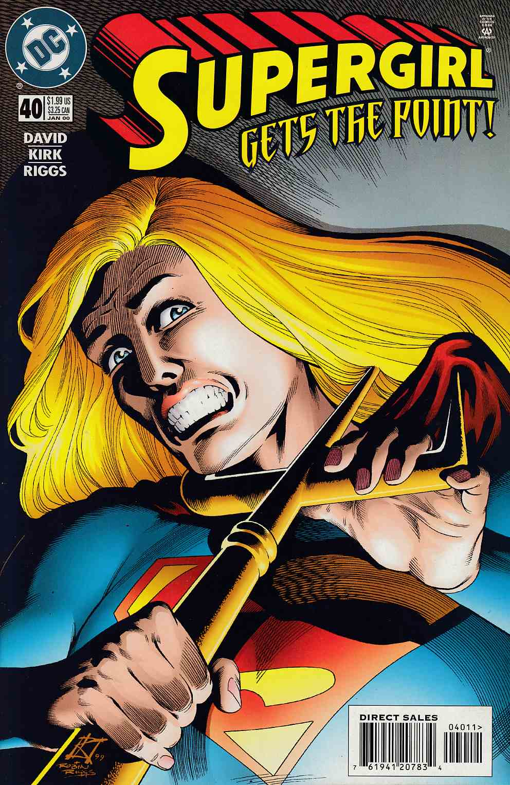 Supergirl #40 Near Mint (9.4) [DC Comic] LARGE