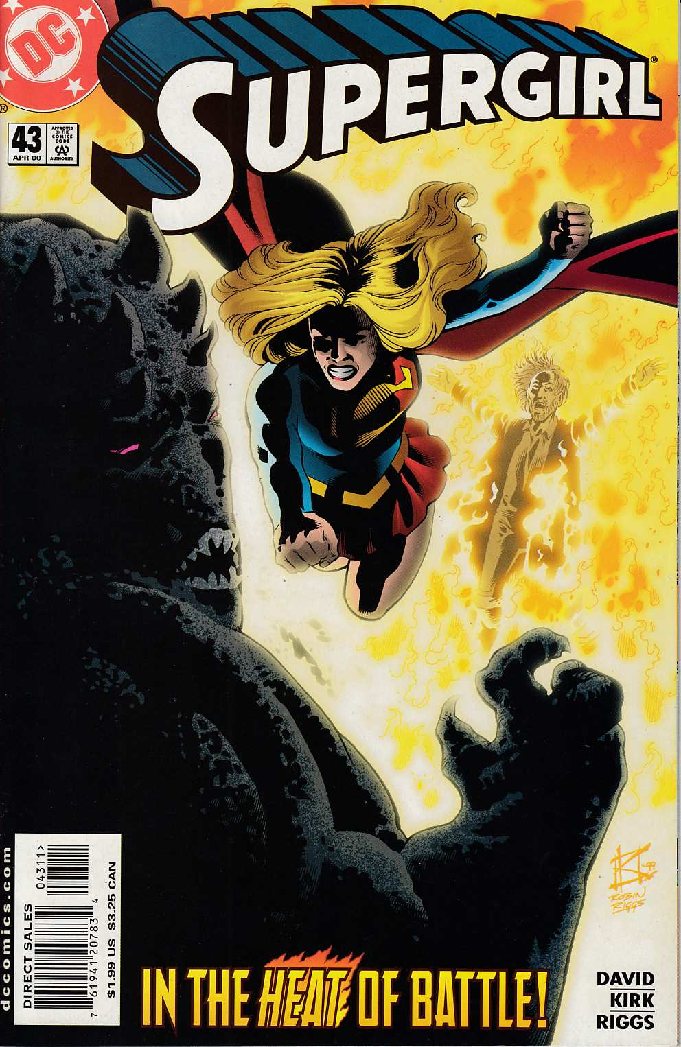 Supergirl #43 Near Mint (9.4) [DC Comic] LARGE