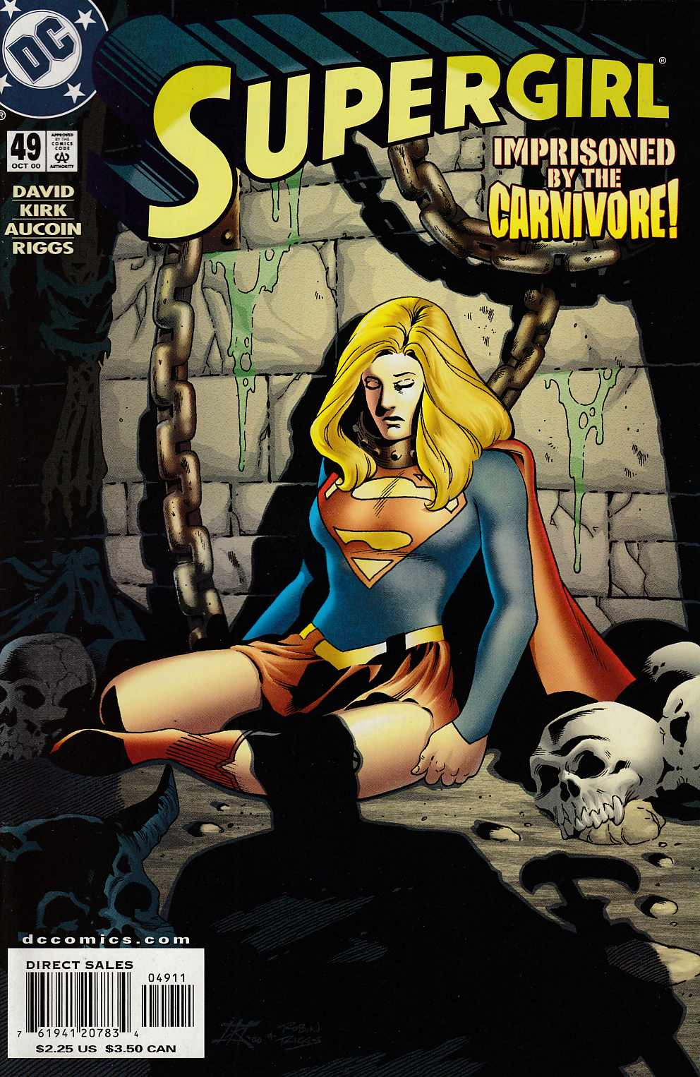 Supergirl #49 Near Mint (9.4) [DC Comic] LARGE