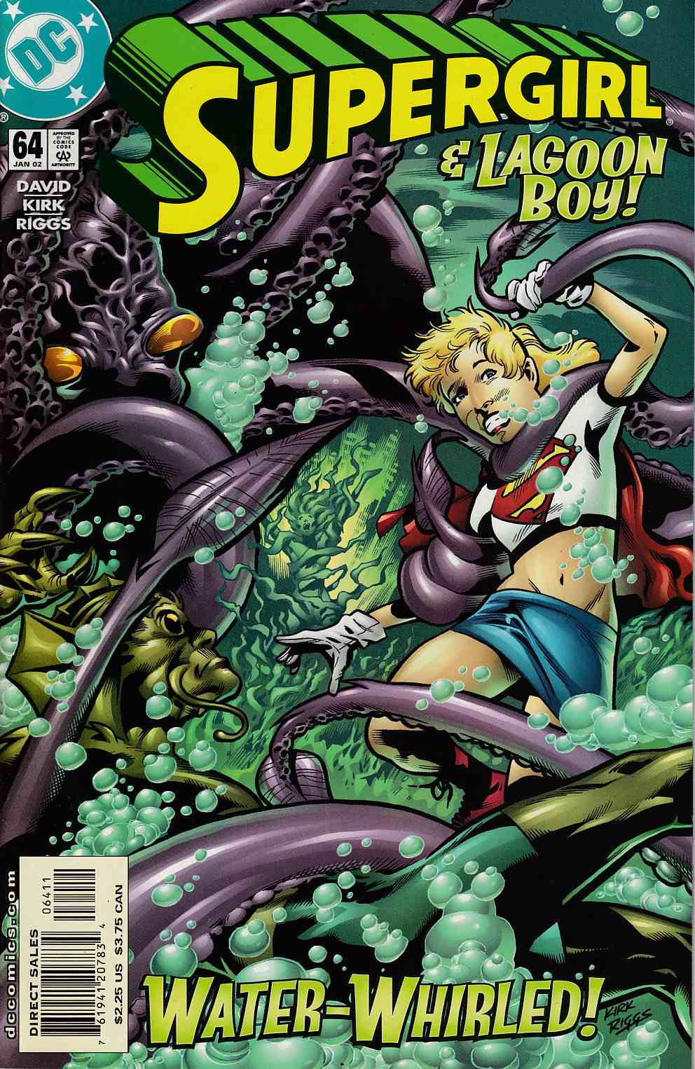 Supergirl #64 Near Mint (9.4) [DC Comic] LARGE