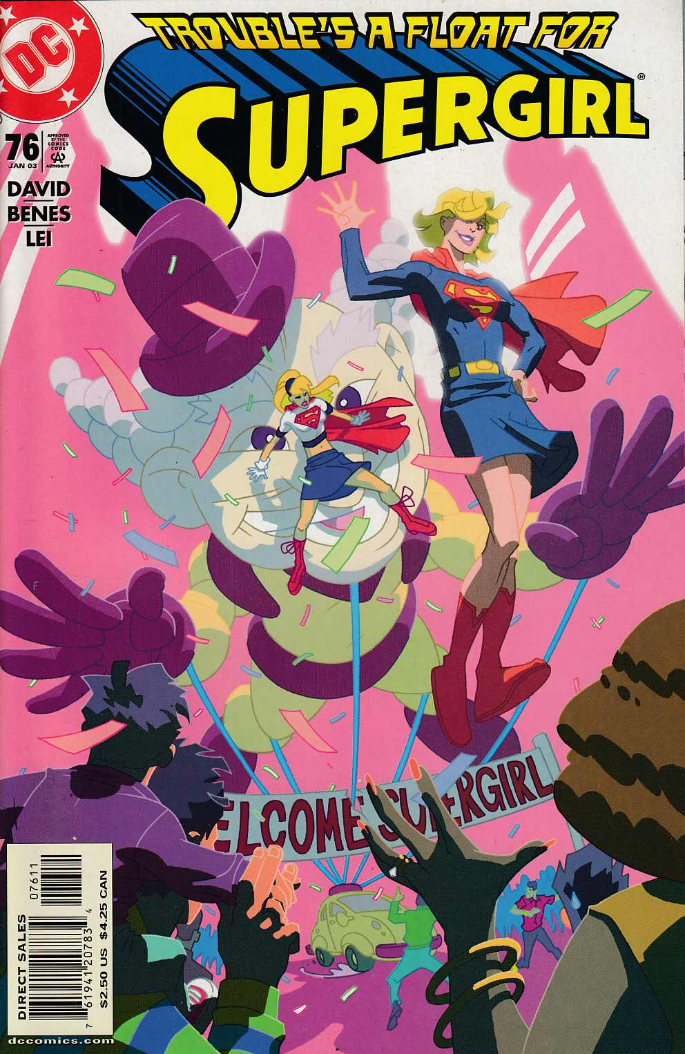 Supergirl #76 Near Mint (9.0) [DC Comic] LARGE