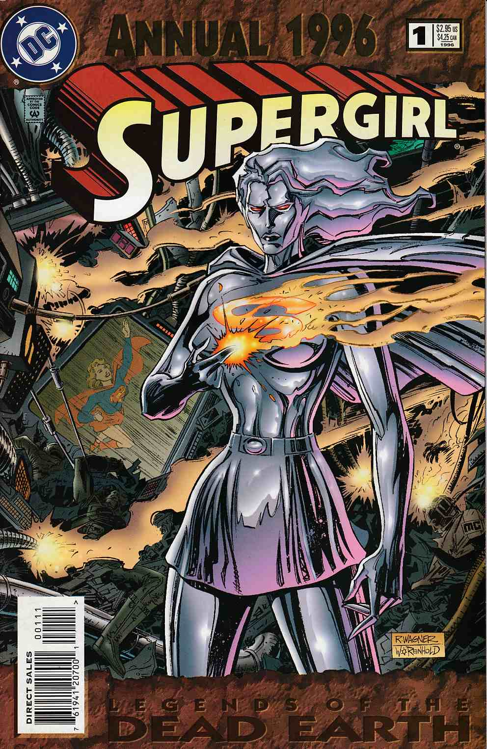 Supergirl Annual #1 Near Mint (9.4) [DC Comic] LARGE