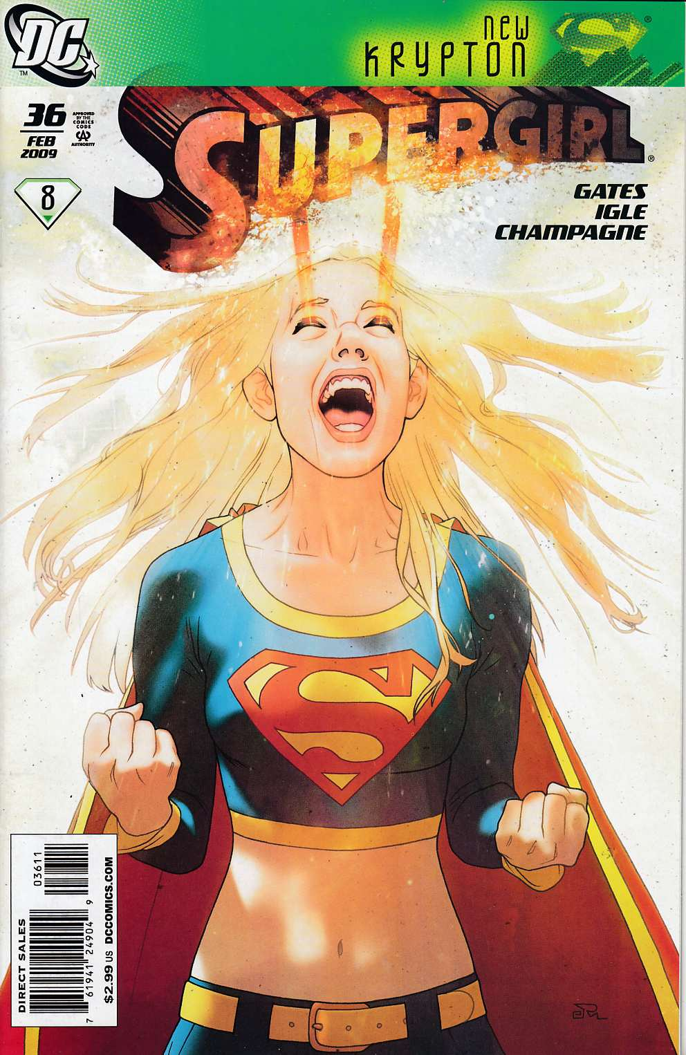 Supergirl #36 Near Mint (9.4) [DC Comic] LARGE