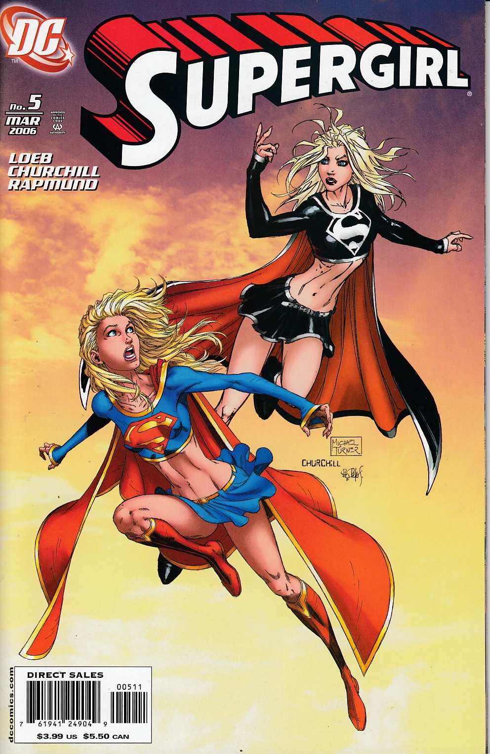 Supergirl #5 Cover A Churchill Near Mint [DC Comic] LARGE