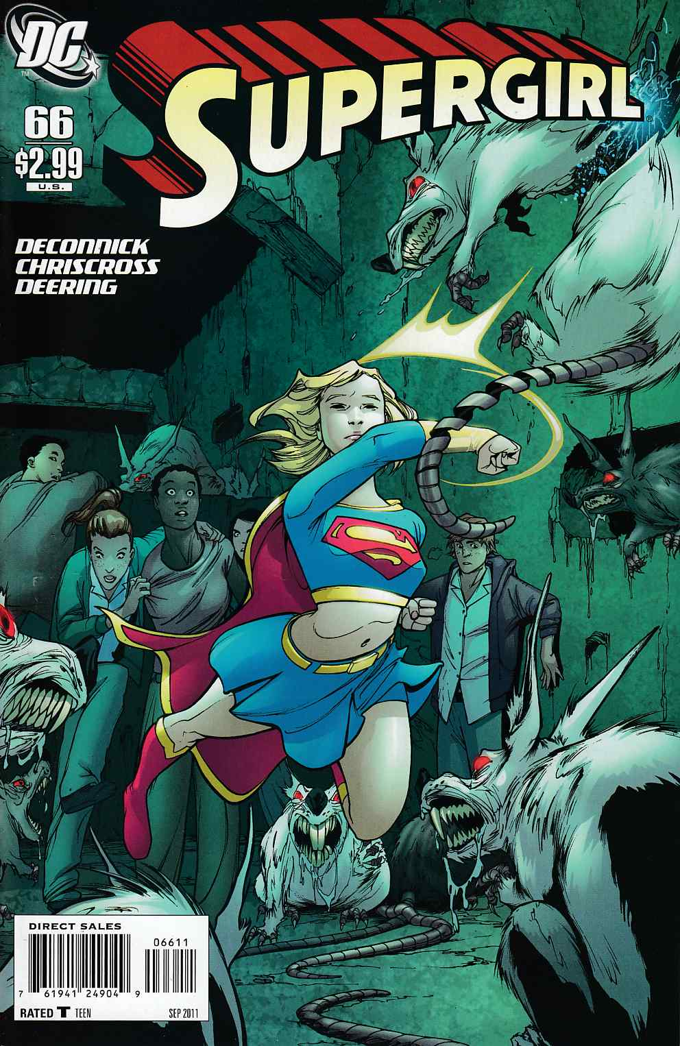 Supergirl #66 Near Mint (9.4) [DC Comic] THUMBNAIL