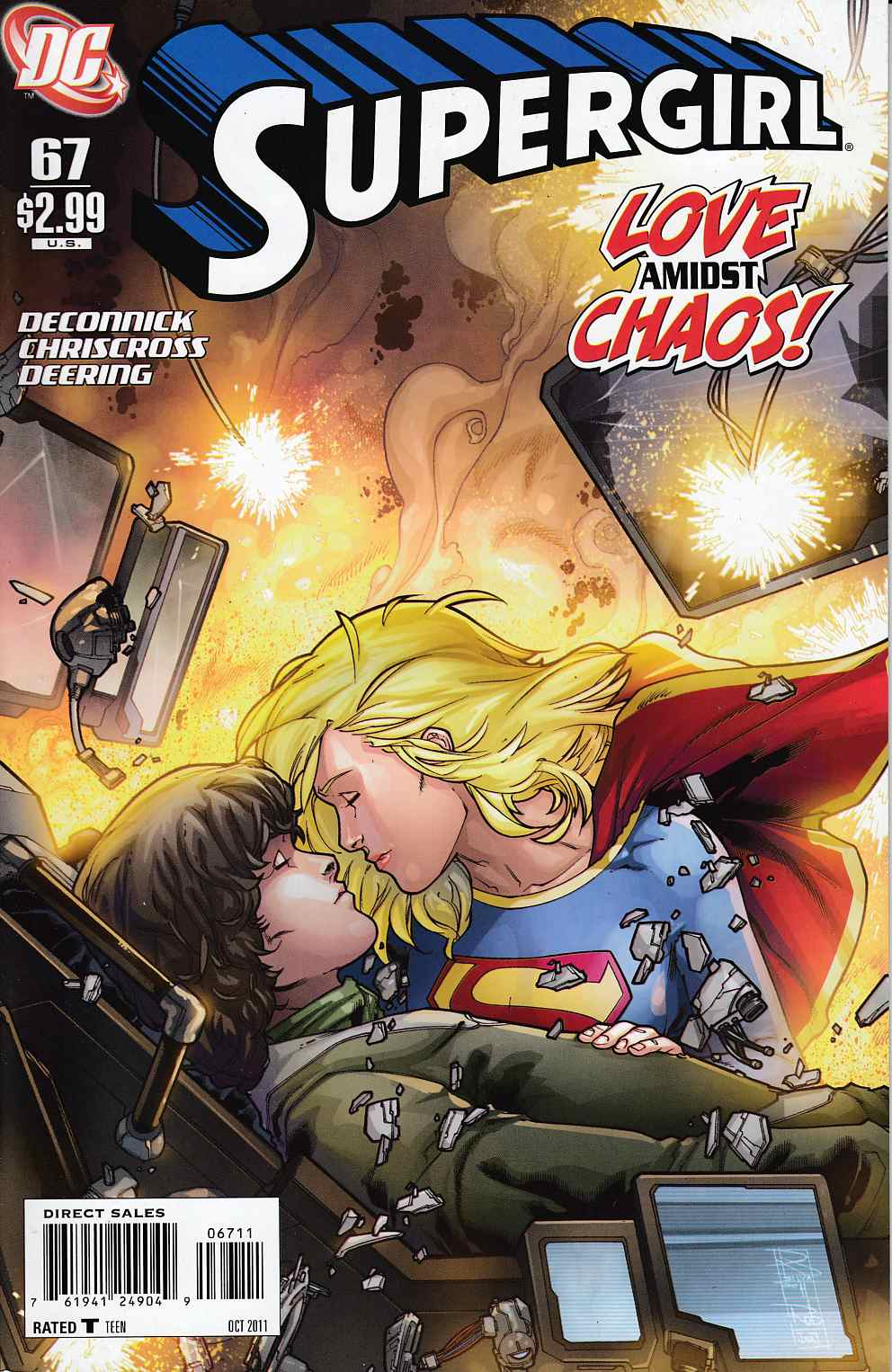 Supergirl #67 Near Mint (9.4) [DC Comic] THUMBNAIL