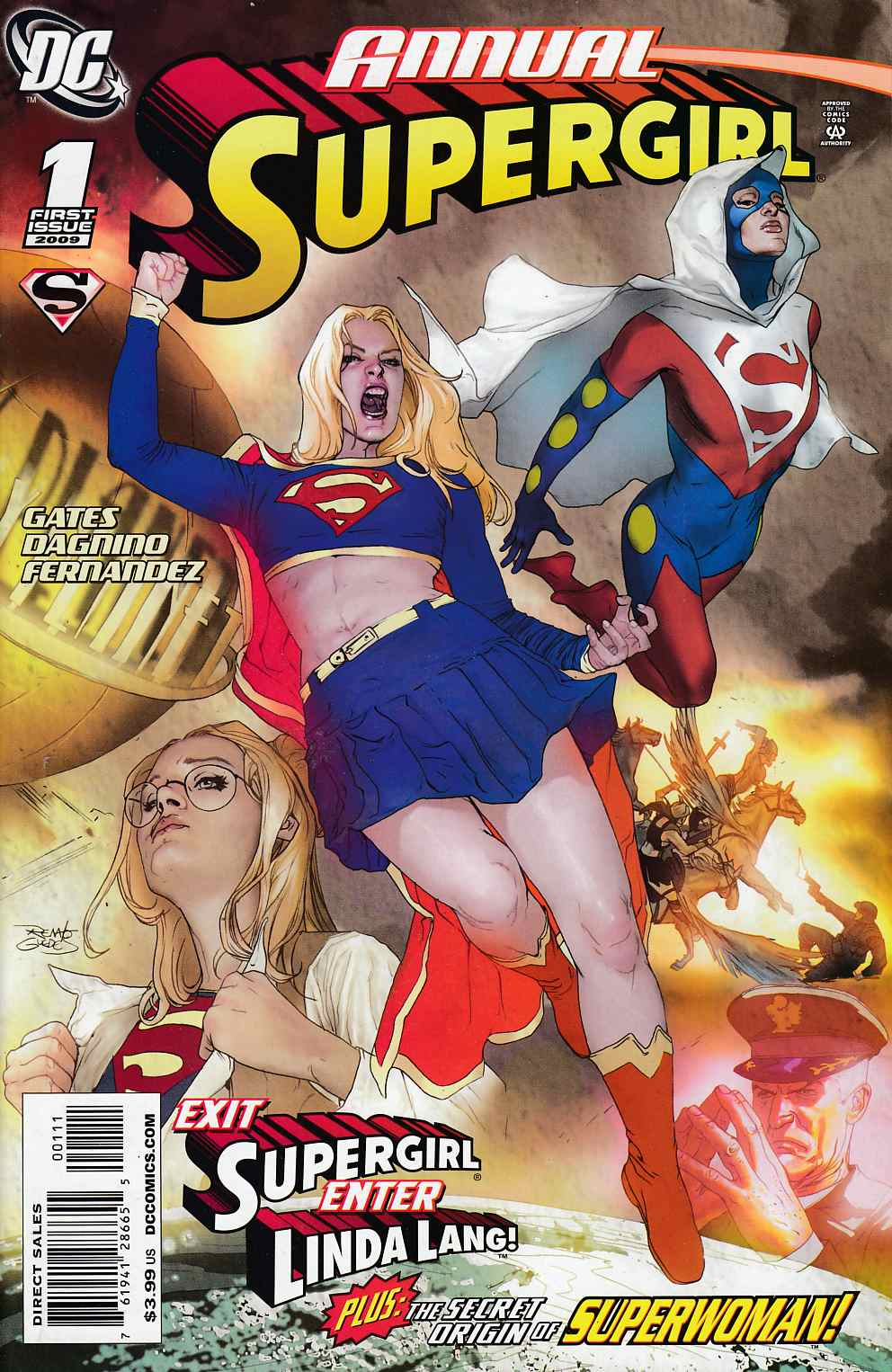 Supergirl Annual #1 Near Mint (9.4) [DC Comic] THUMBNAIL