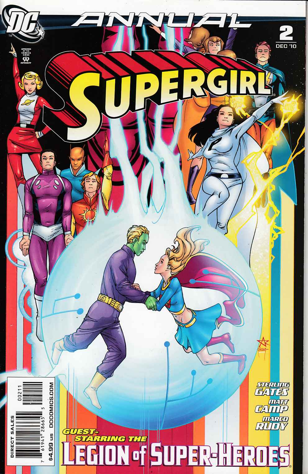 Supergirl Annual #2 Very Fine (8.0) [DC Comic] THUMBNAIL