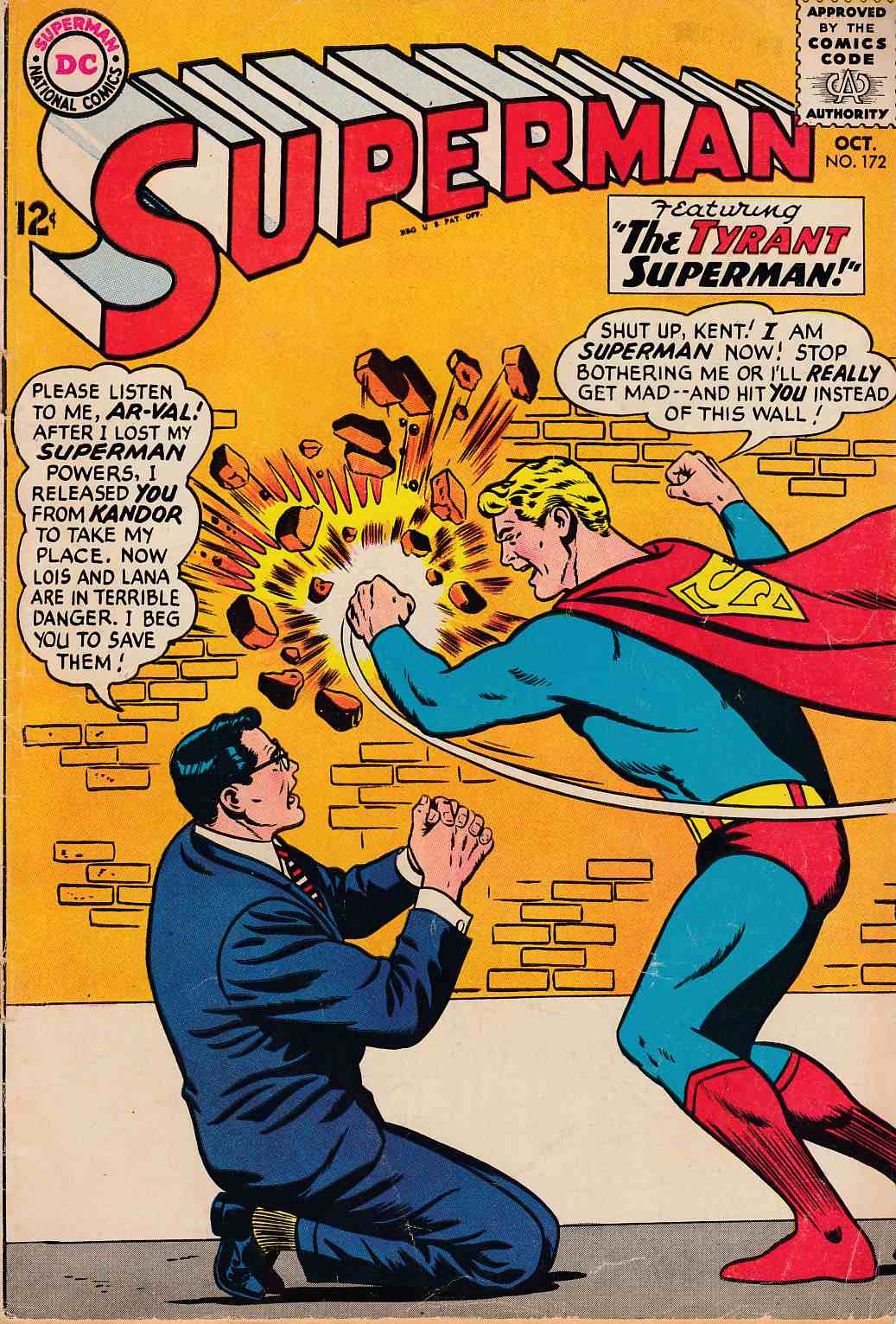 Superman #172 Good/Very Good (3.0) [DC Comic] THUMBNAIL