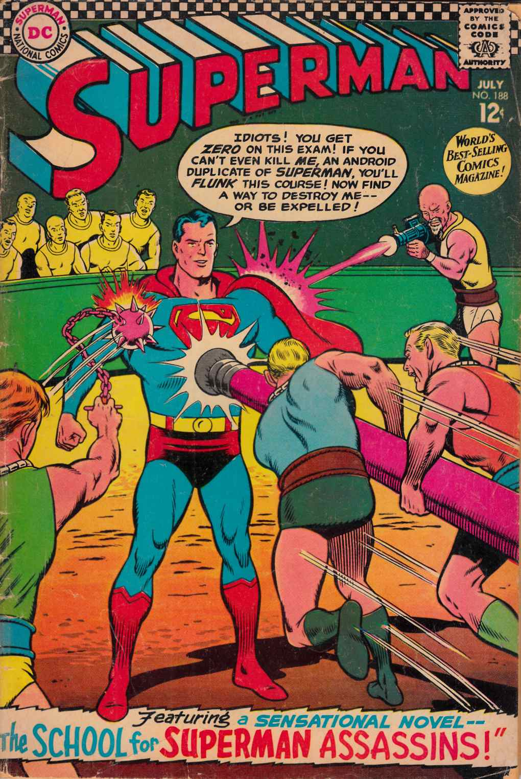 Superman #188 Fair (1.0) [DC Comic] THUMBNAIL
