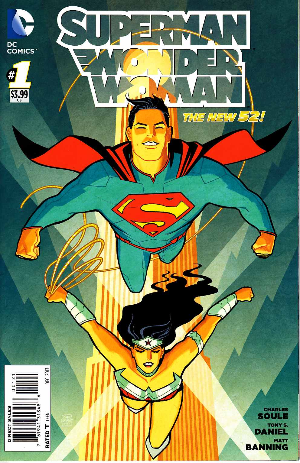 Superman Wonder Woman #1 Superman Variant Cover [DC Comic] THUMBNAIL
