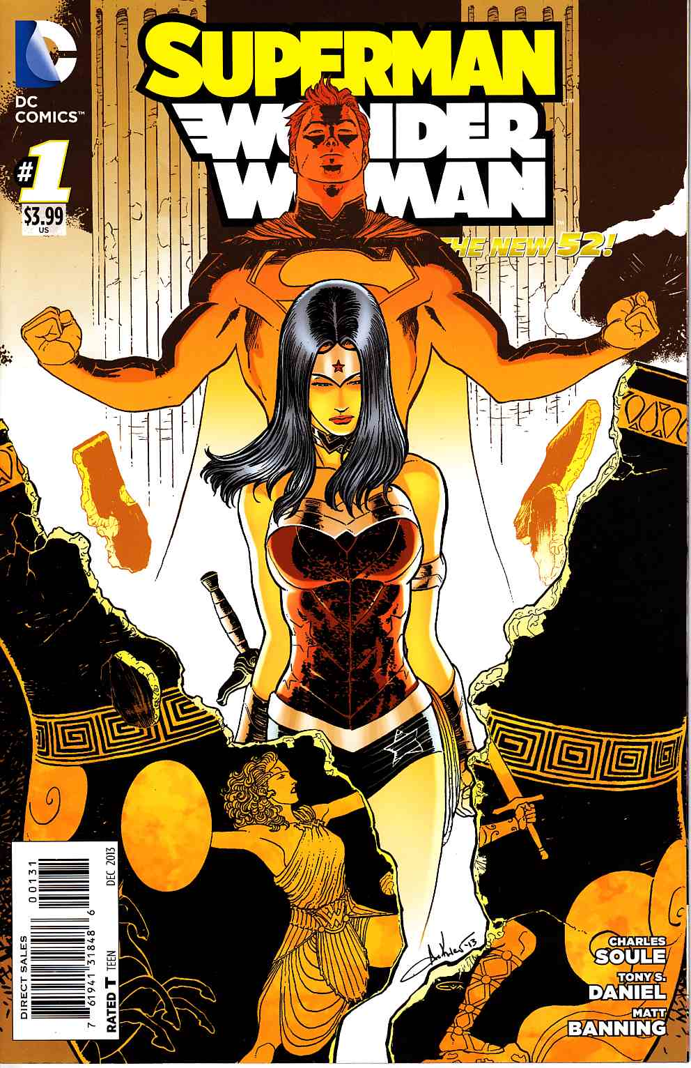 Superman Wonder Woman #1 Wonder Woman Variant Cover [DC Comic] THUMBNAIL