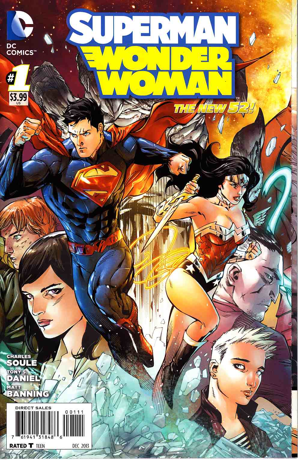Superman Wonder Woman #1 [DC Comic] THUMBNAIL