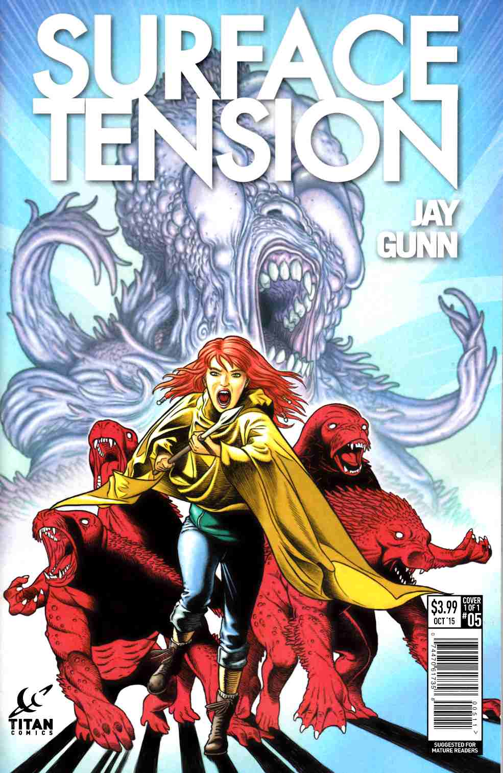 Surface Tension #5 [Titan Comic]