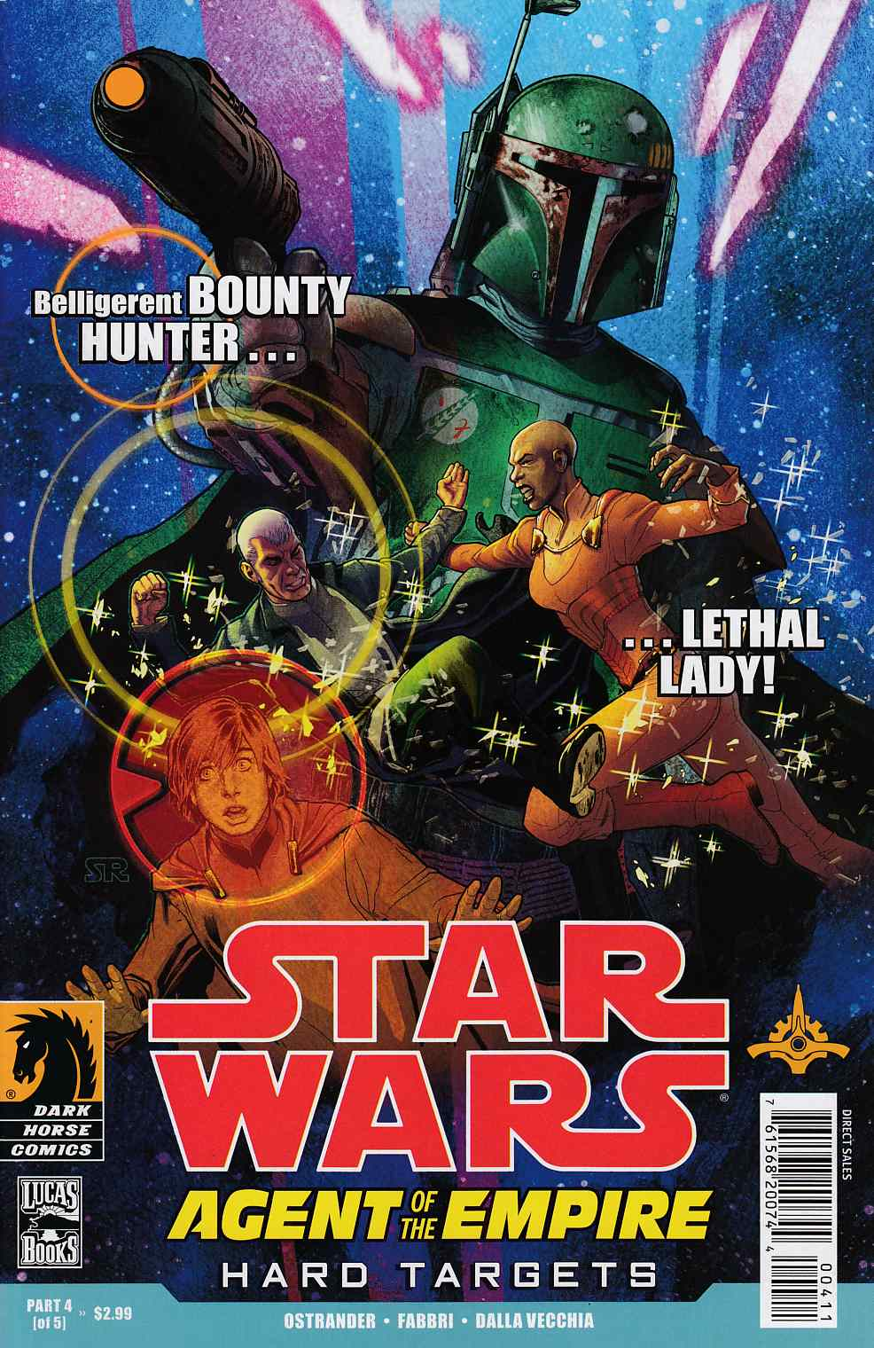 Star Wars Agent of the Empire Hard Targets #4 Very Fine (8.0) [Dark Horse Comic] THUMBNAIL