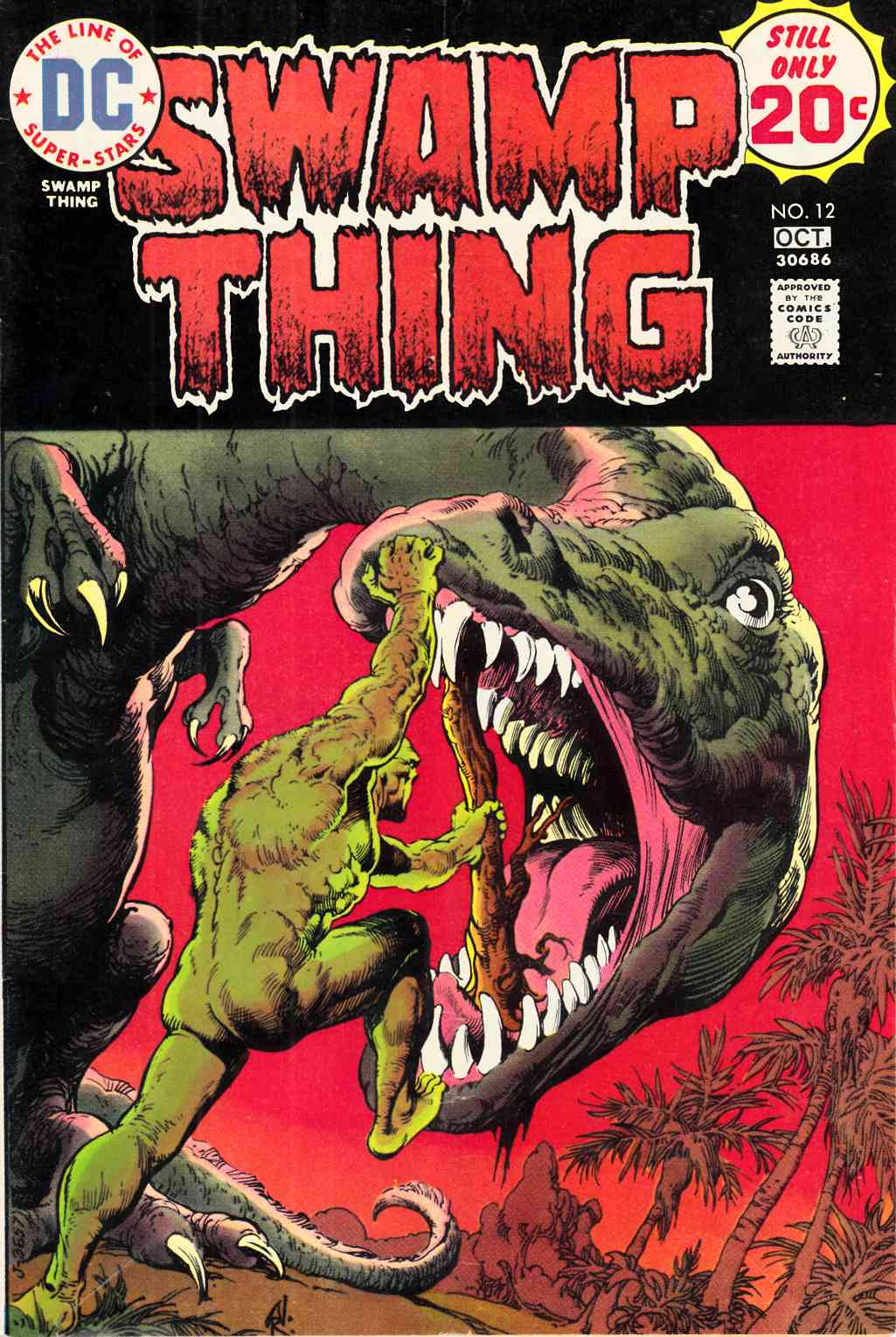 Swamp Thing #12 Very Good (4.0) [DC Comic] THUMBNAIL