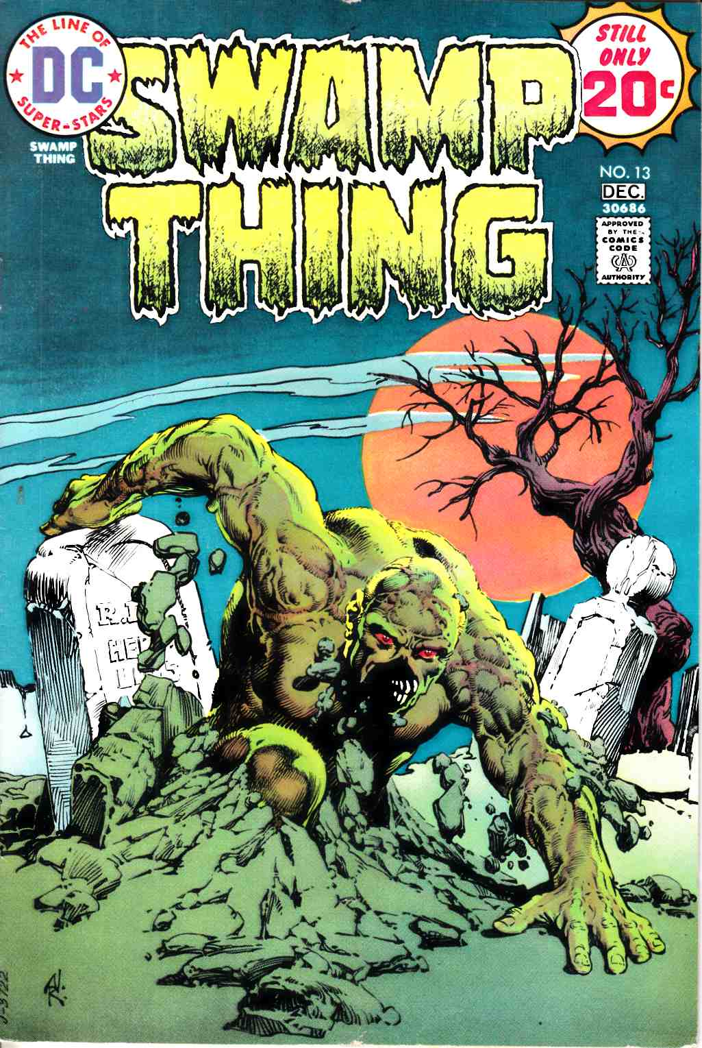 Swamp Thing #13 Very Good (4.0) [DC Comic] THUMBNAIL
