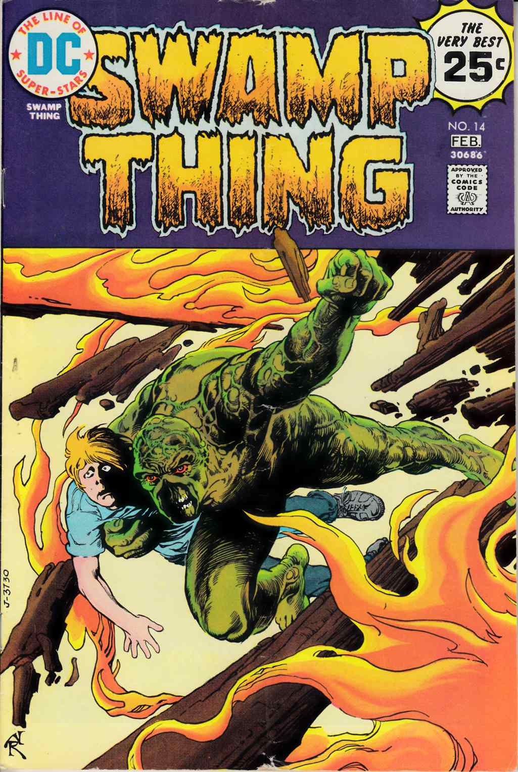 Swamp Thing #14 Very Good (4.0) [DC Comic] THUMBNAIL