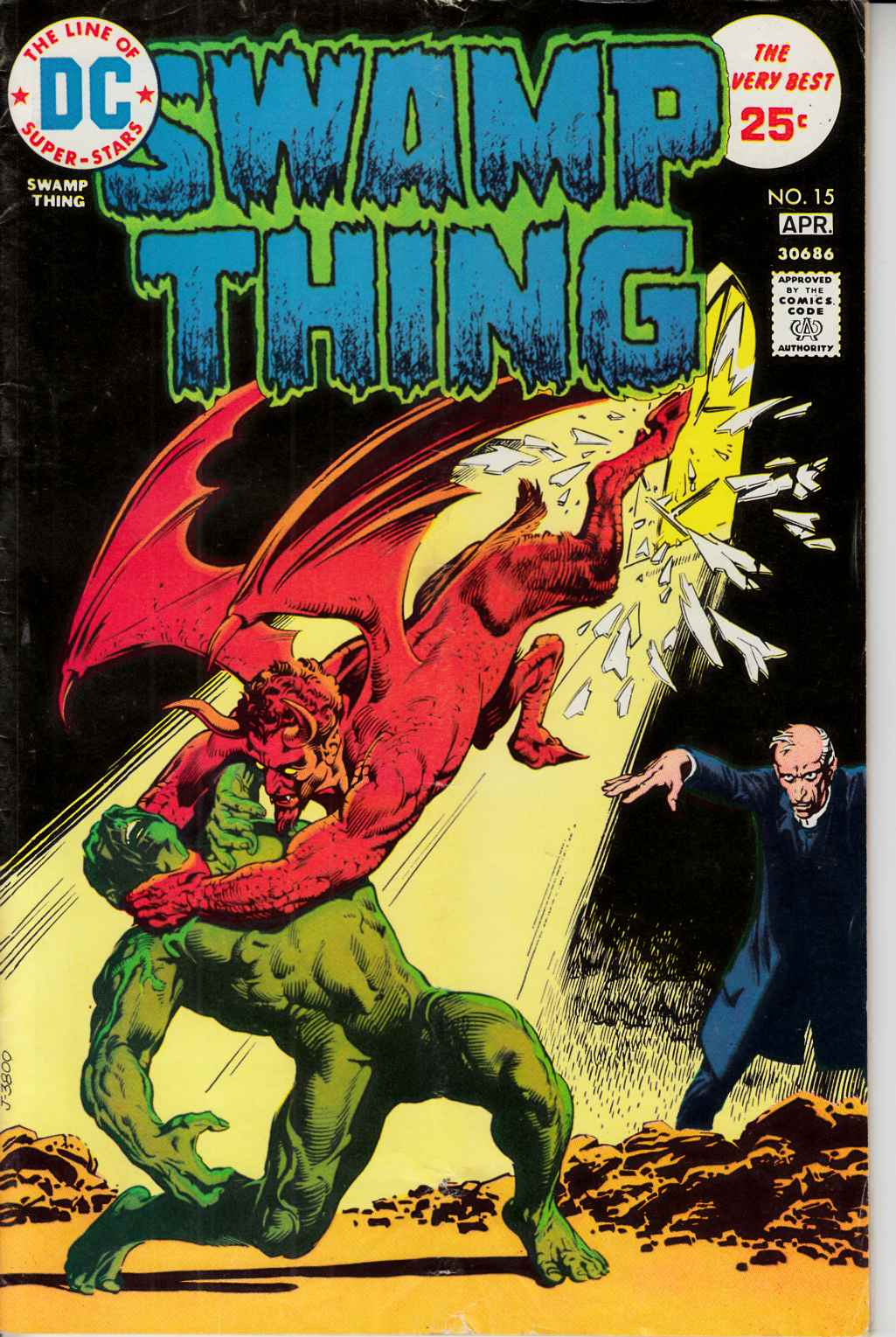 Swamp Thing #15 Very Good (4.0) [DC Comic] THUMBNAIL