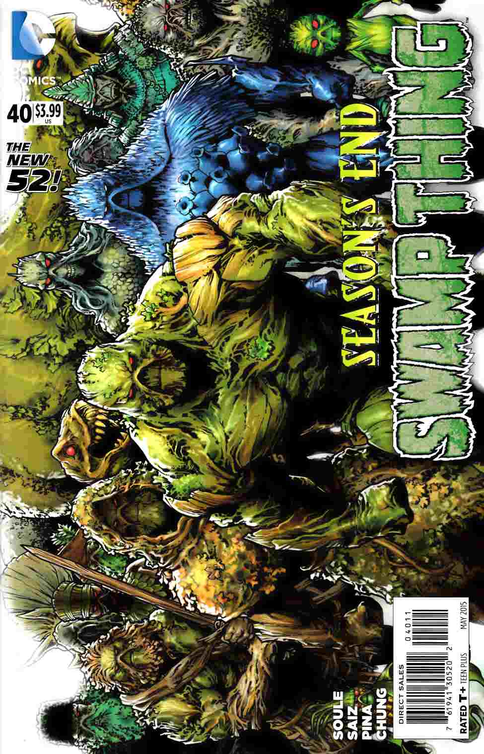 Swamp Thing #40 Near Mint (9.4) [DC Comic] THUMBNAIL