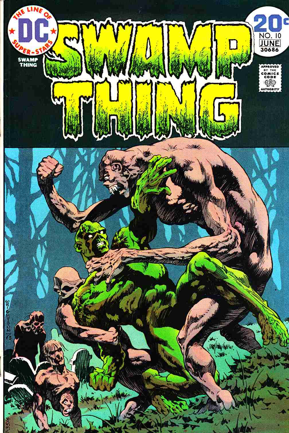 Swamp Thing #10 Very Fine (8.0) [DC Comic]_THUMBNAIL