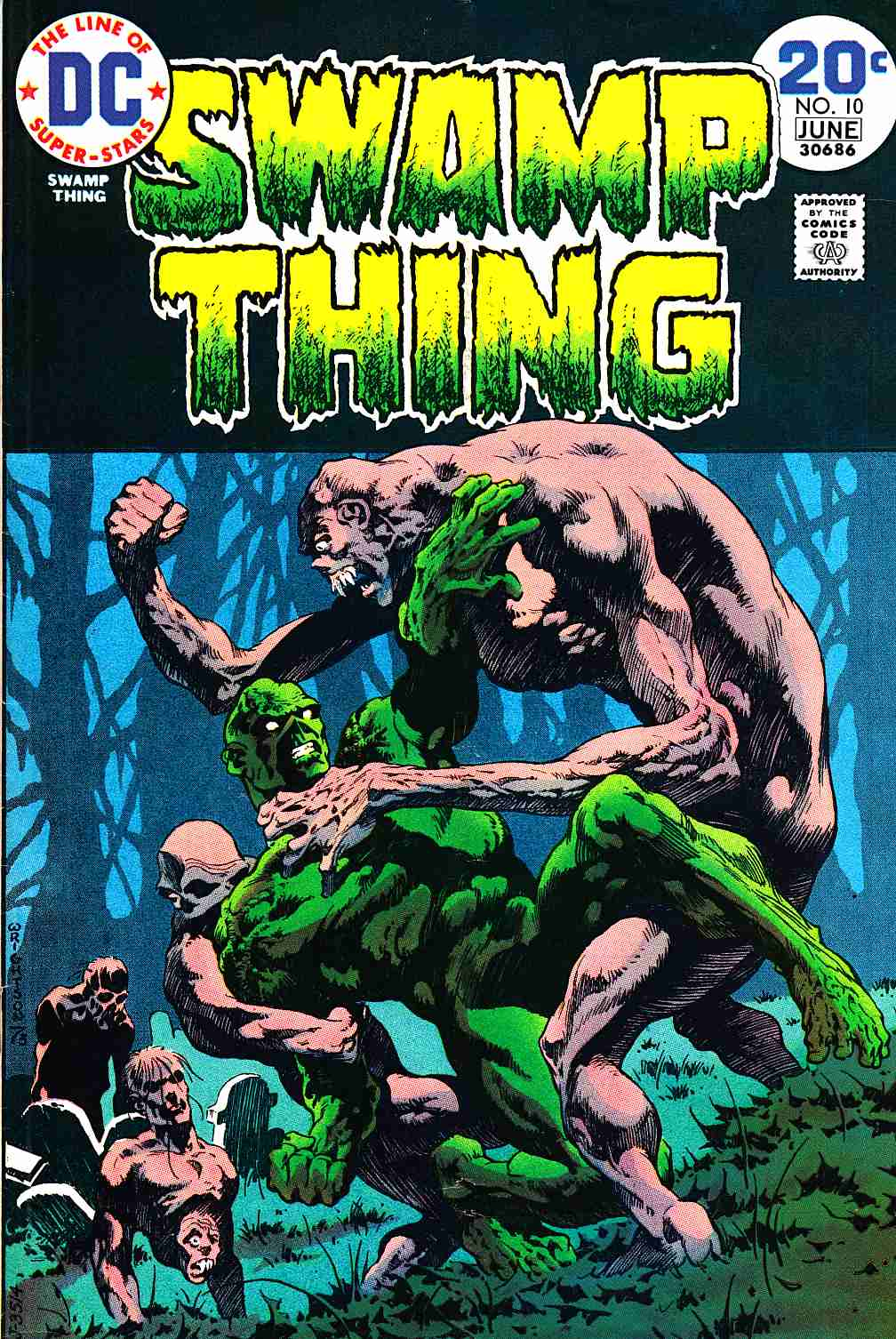 Swamp Thing #10 Very Good (4.0) [DC Comic]_THUMBNAIL