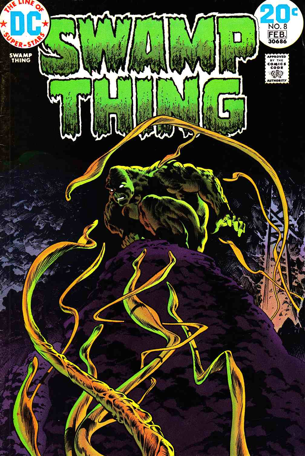 Swamp Thing #8 Fine/Very Fine (7.0) [DC Comic]_THUMBNAIL
