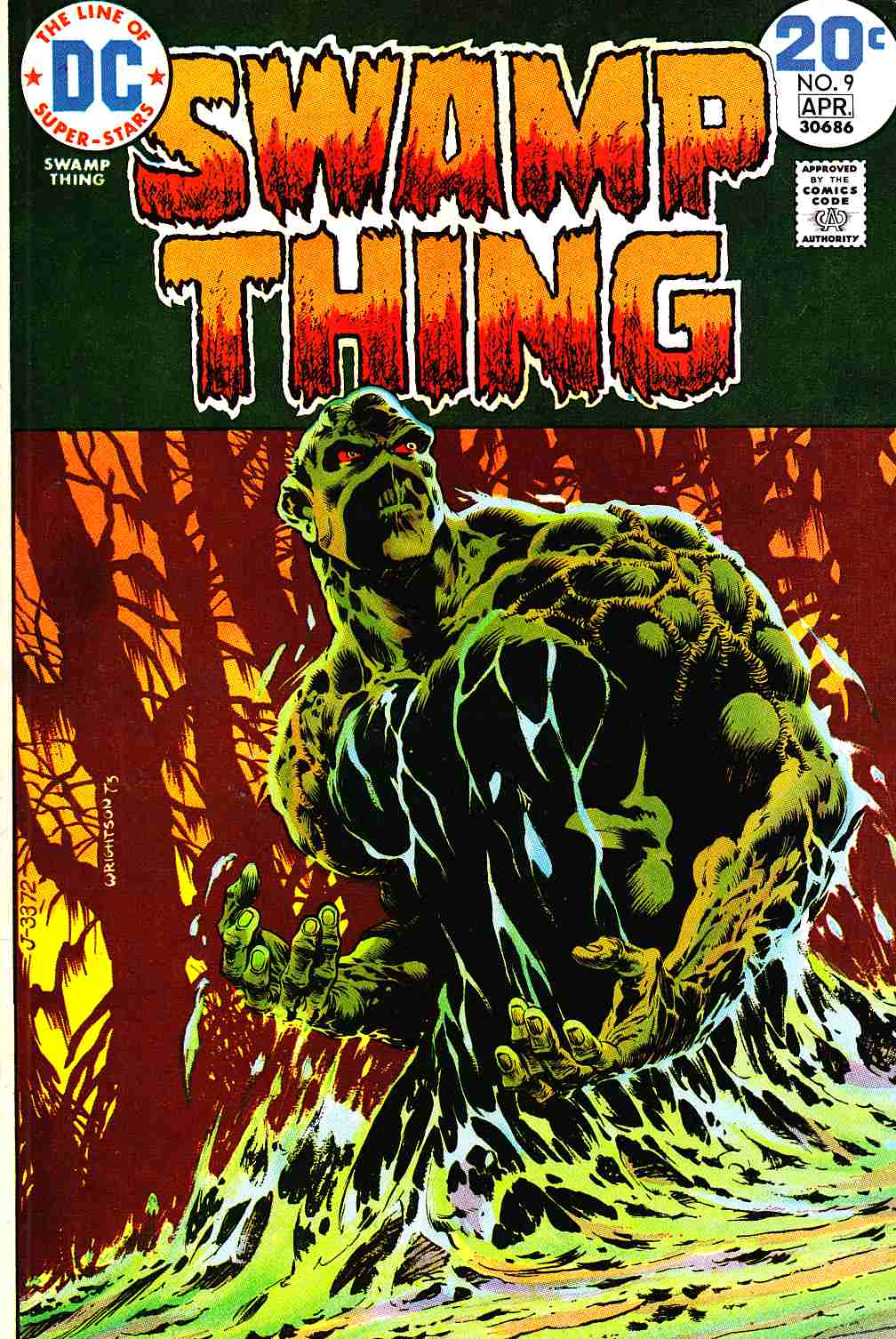 Swamp Thing #9 Very Fine (8.0) [DC Comic]_THUMBNAIL