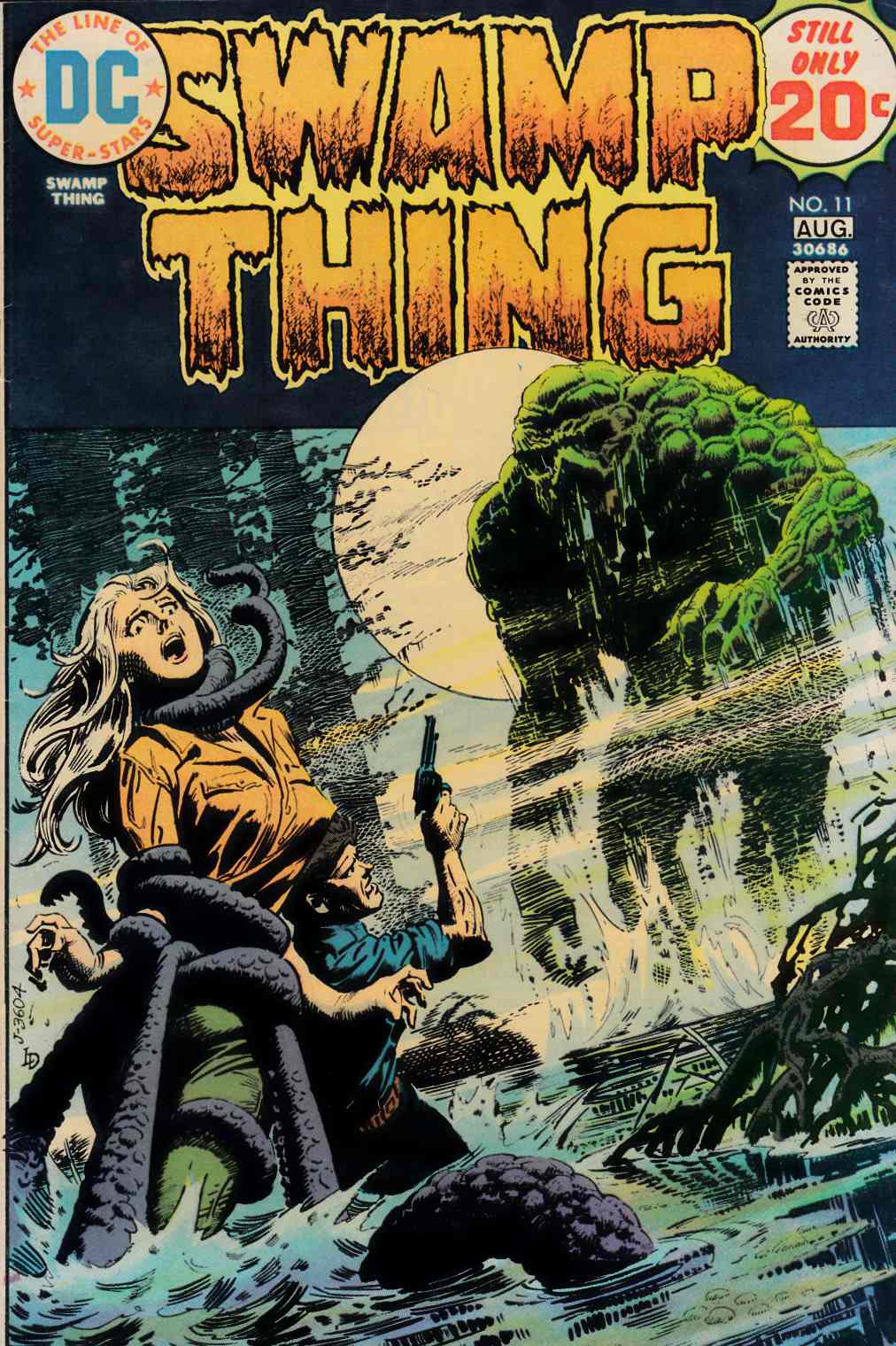 Swamp Thing #11 Fine Plus (6.5) [DC Comic]_THUMBNAIL