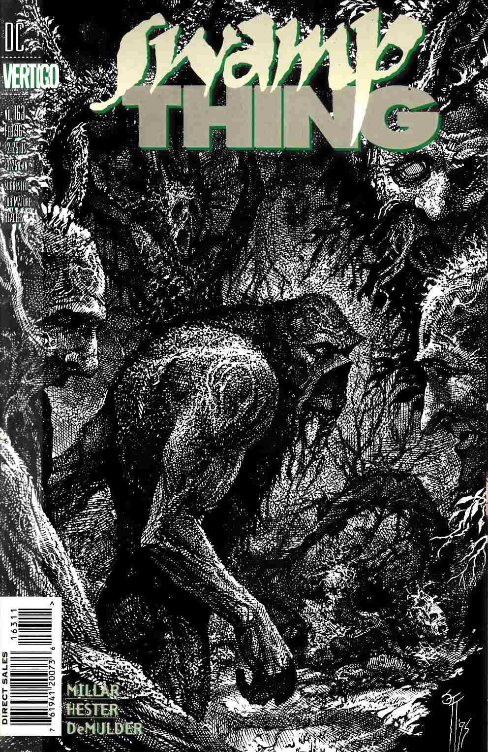 Swamp Thing #163 Very Fine Plus (8.5) [DC Comic] THUMBNAIL