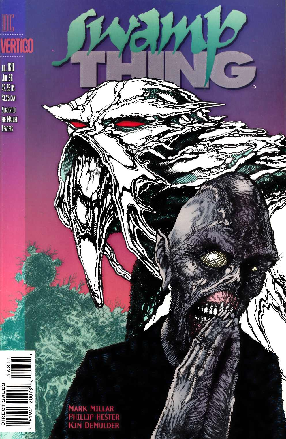 Swamp Thing #168 Very Fine (8.0) [DC Comic] THUMBNAIL