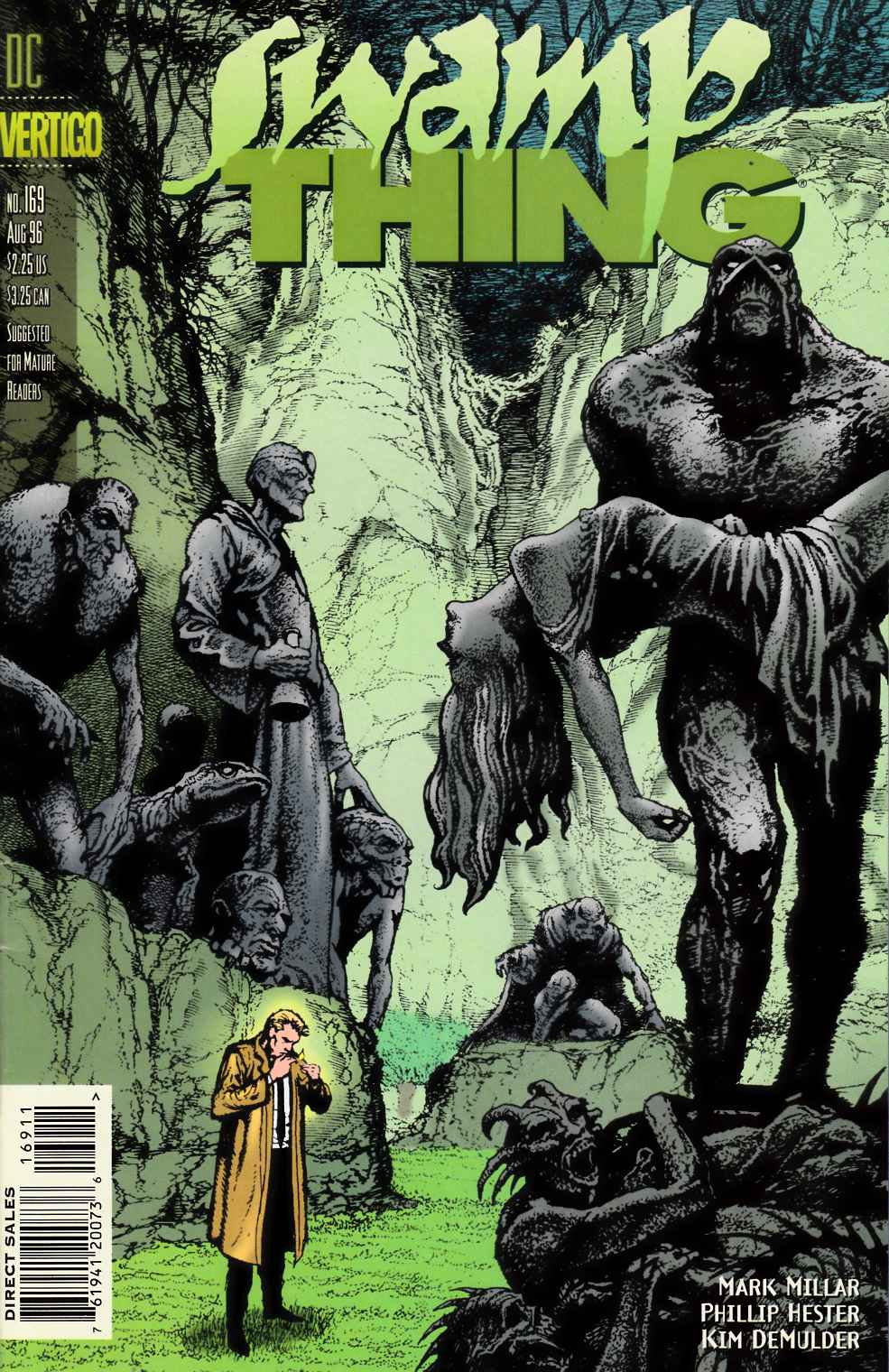 Swamp Thing #169 Very Fine (8.0) [DC Comic] THUMBNAIL