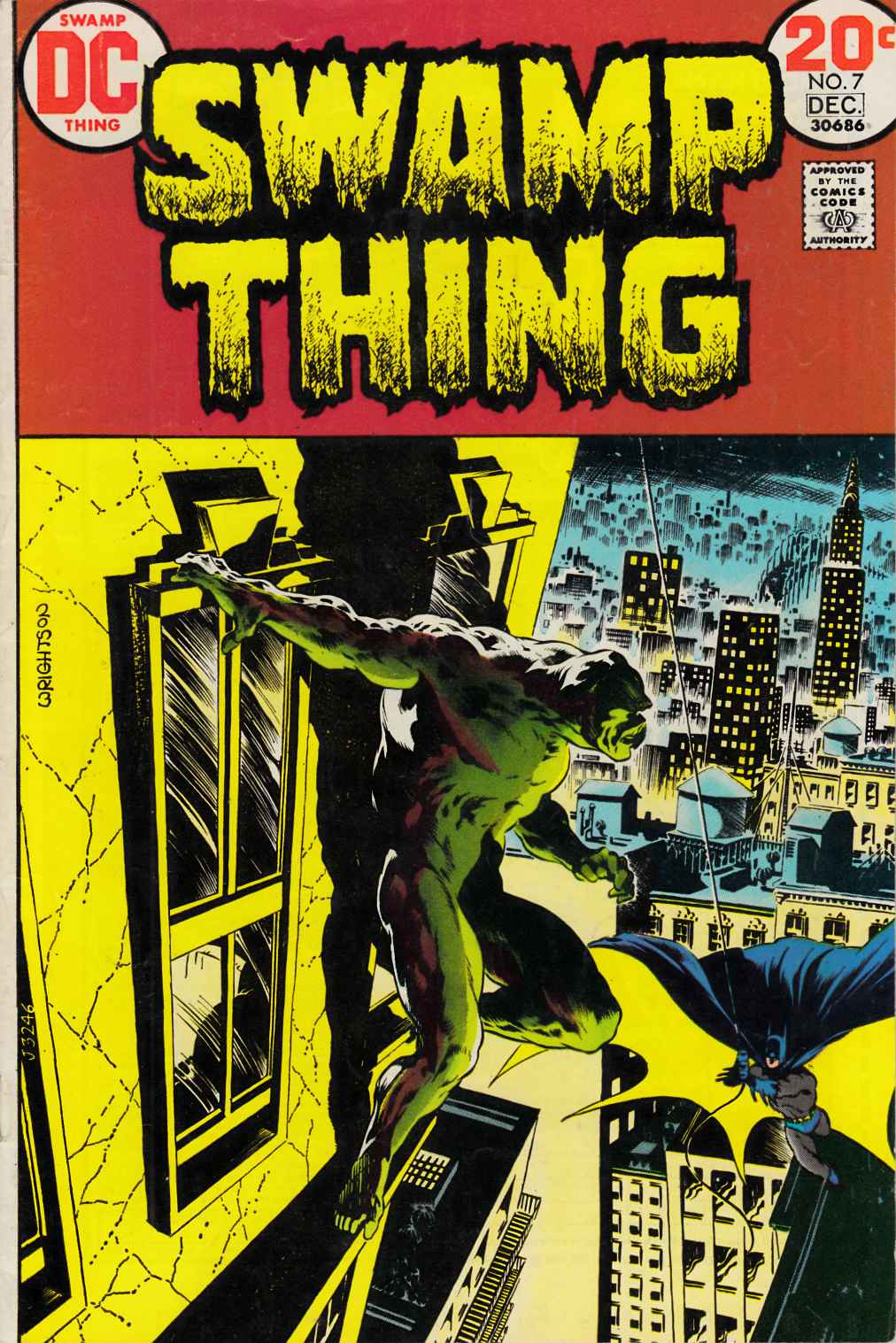 Swamp Thing #7 Very Fine Minus (7.5) [DC Comic]_THUMBNAIL