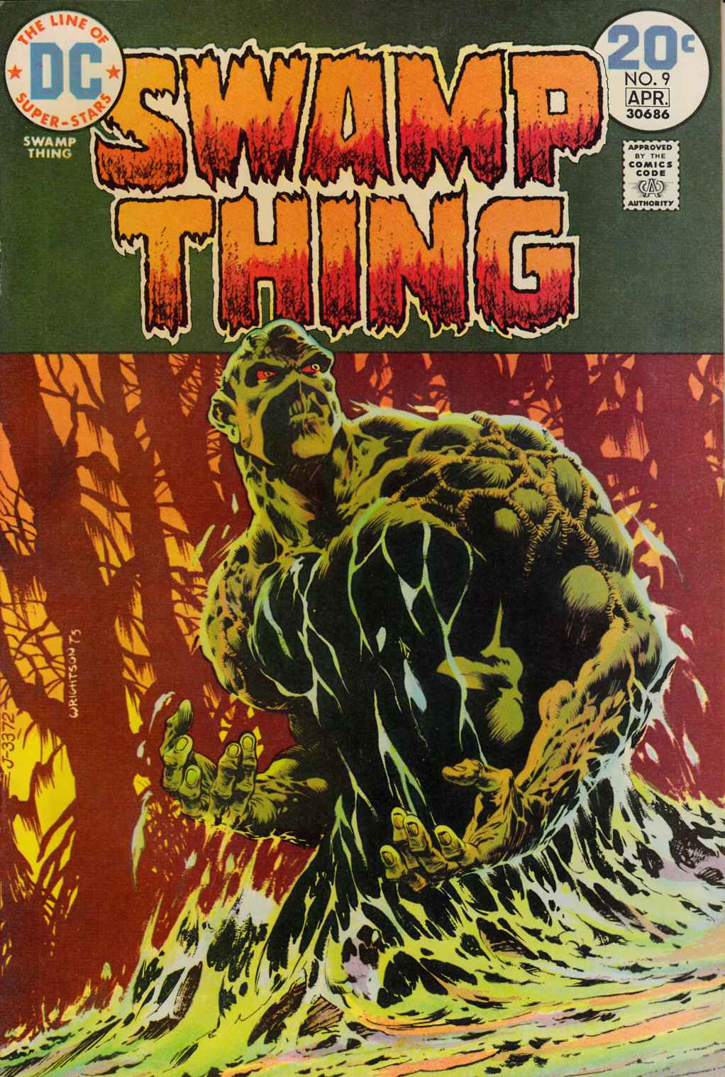 Swamp Thing #9 Fine Plus (6.5) [DC Comic]_THUMBNAIL