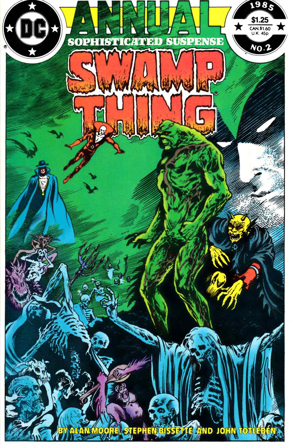 Swamp Thing Annual #2 Very Fine (8.0) [DC Comic] THUMBNAIL