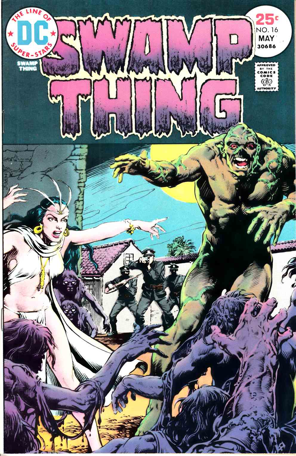 Swamp Thing #16 Very Fine Minus (7.5) [DC Comic] THUMBNAIL