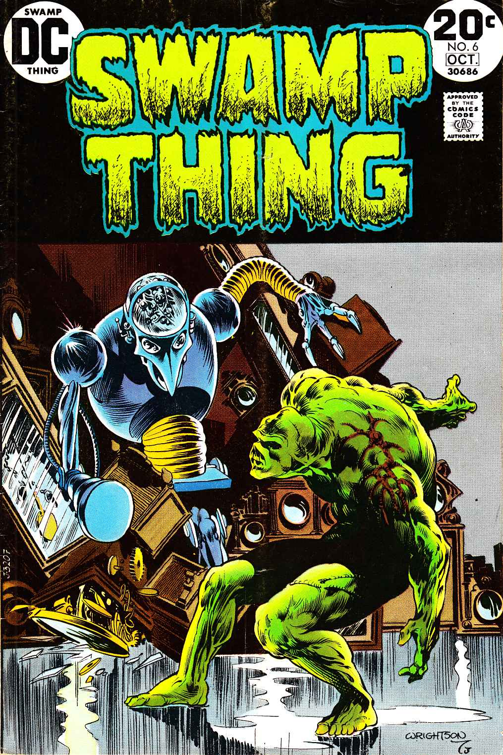 Swamp Thing #6 [DC Comic]_THUMBNAIL